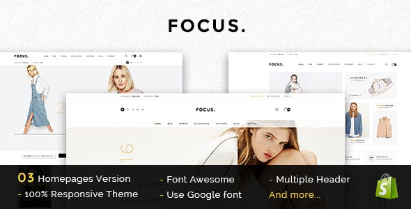 Focus — Responsive Shopify Theme