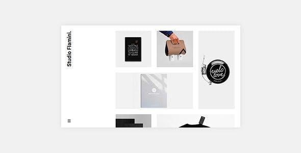 Flamini v1.0.2 — Studio/Agency Portfolio WordPress Theme for Elementor