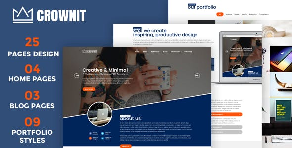 CrownIT v1.5 — Responsive Multi-Purpose WordPress Theme