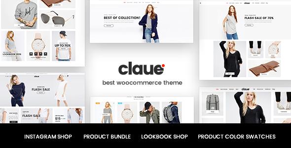 Claue v1.5.7 — Clean, Minimal WooCommerce Theme