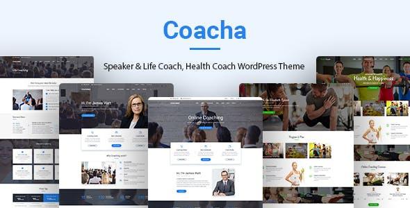 Coacha v1.1.7 — Health and Coaching WordPress Theme