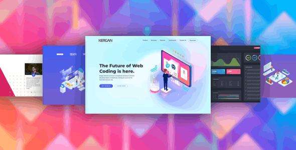 Kergan — Digital Startup HTML Templates