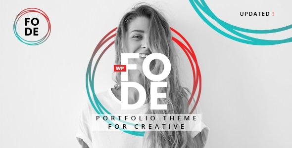 Fode v1.0.1 — Portfolio Theme for Creatives
