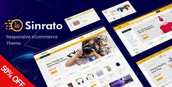 Sinrato v1.0 — Mega Shop Responsive Magento Theme