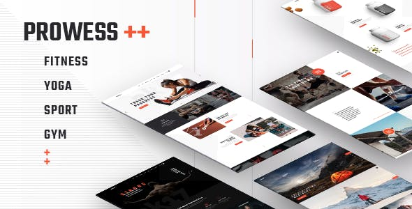 Prowess v1.4.2 — Fitness and Gym WordPress Theme