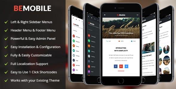 Be Mobile Theme v1.3 — Mobile WordPress Theme (WooCommerce Ready)