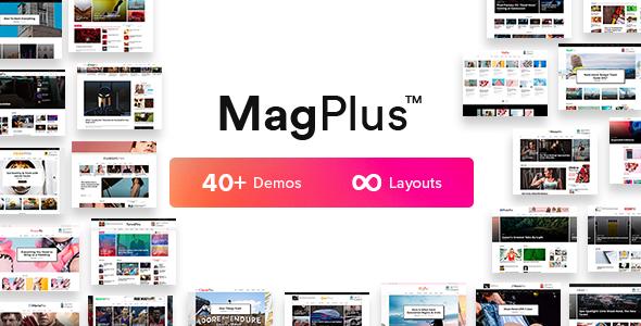 MagPlus v3.1 — Blog & Magazine WordPress Theme