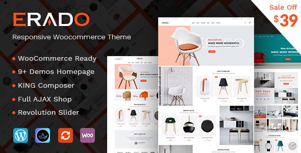 Erado v1.2 — eCommerce WordPress Theme