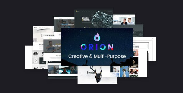 Orion v1.4 — Creative Multi-Purpose WordPress Theme