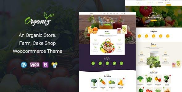 Organiz v1.6 — An Organic Store WooCommerce Theme