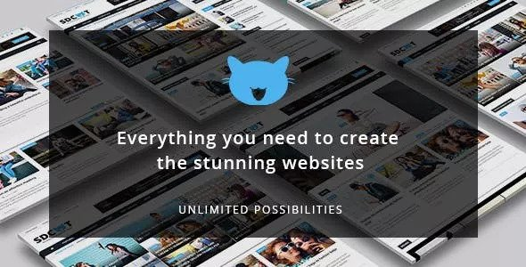 Shadowcat v2.2 — A News and Magazine WordPress Theme
