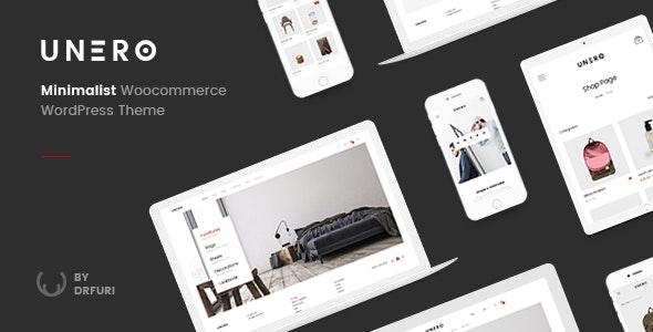 Unero v1.7.9 — Minimalist AJAX WooCommerce WordPress Theme