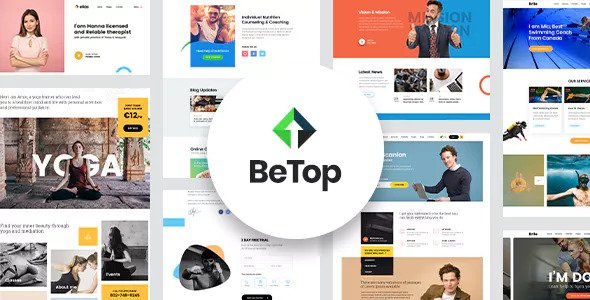 BeTop v1.0.3 — Coaching & Speaker WordPress Theme
