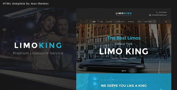 Limo King v1.0 — Car Hire Template
