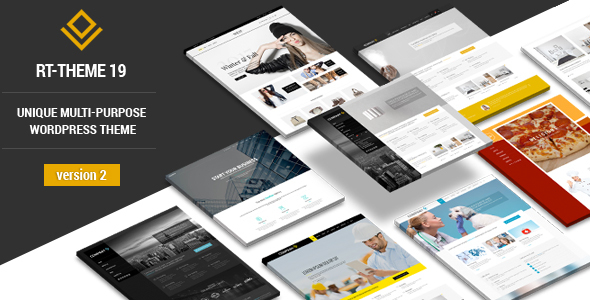 RT-Theme 19 v2.8.2 — Responsive Multi-Purpose WP Theme