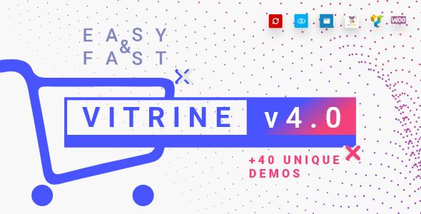 Vitrine v4.6.1 — WooCommerce WordPress Theme