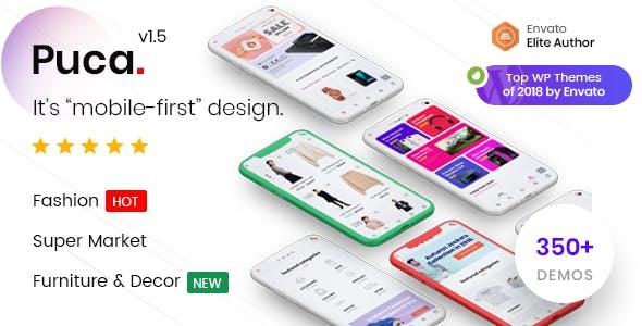 Puca v1.5.1 — Optimized Mobile WooCommerce Theme