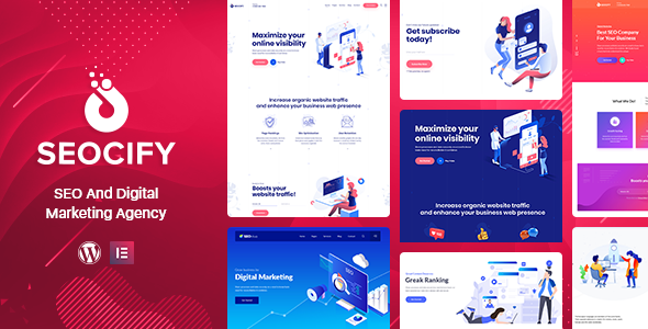 Seocify v1.7 — SEO And Digital Marketing Agency