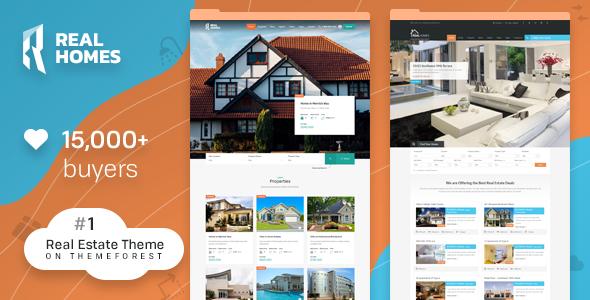 Real Homes v3.9.1 — WordPress Real Estate Theme