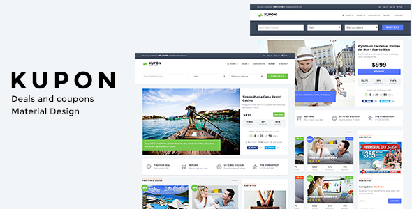 KUPON v1.2.7 — WordPress Coupon Theme, Daily Deals, Group Buying Marketplace