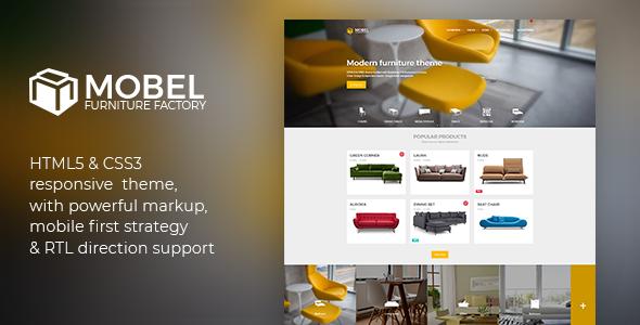 Mobel v2.2.0 — Furniture HTML Template