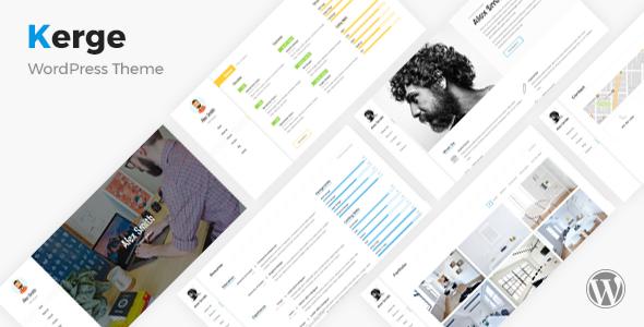 Kerge v2.2.1 — Resume / CV / vCard / Portfolio