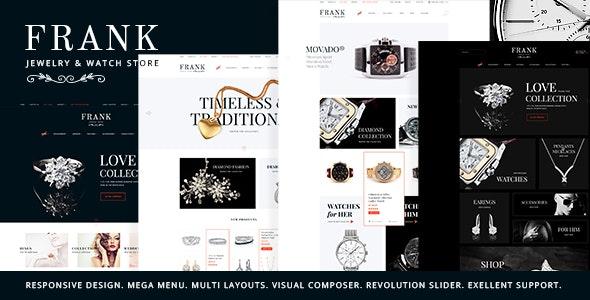 Frank v1.5.1 — Jewelry & Watches Online Store WordPress Theme