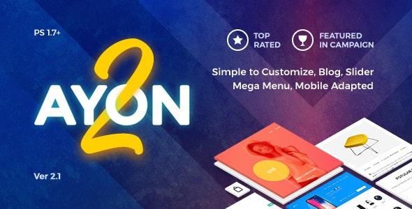 AYON v2.0 — Multipurpose Responsive Prestashop Theme