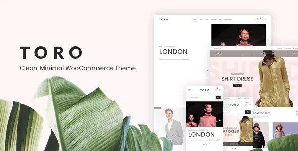 Toro v1.0.5 — Clean, Minimal WooCommerce Theme