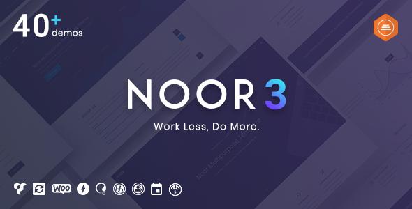 Noor v4.0.3 — Fully Customizable Creative AMP Theme