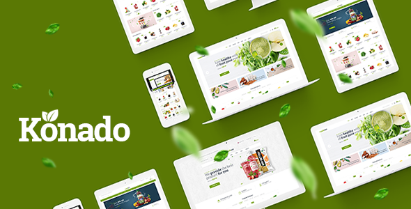 Konado v1.0.4 — Organic Theme for WooCommerce