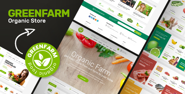 Greenfarm v1.0.7 — Organic Theme for WooCommerce