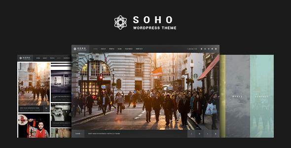 SOHO v2.6.5.9 — Fullscreen Photo & Video WordPress Theme