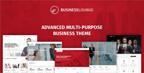 Business Lounge v1.8 — Multi-Purpose Business Theme