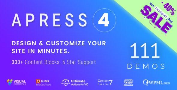 Apress v4.6.0 — Responsive Multi-Purpose Theme