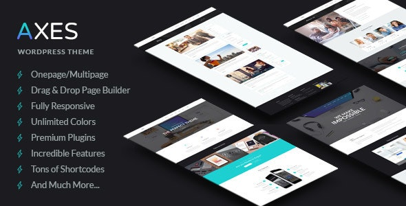 Axes v1.1 — Multi-Purpose Responsive WordPress Theme