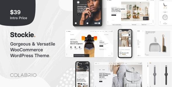 Stockie v1.0.4 — Multi-purpose Creative WooCommerce Theme