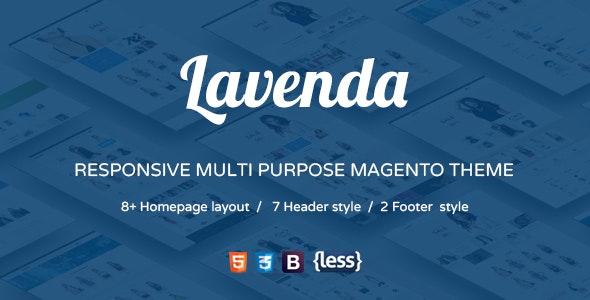 SNS Lavenda v1.1 — Responsive Magento Theme
