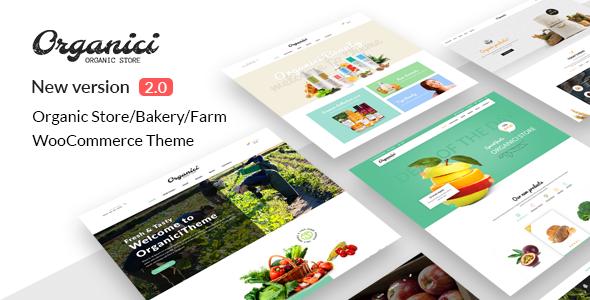 Organici v2.0.3.1 — Organic Store & Bakery WooCommerce Theme
