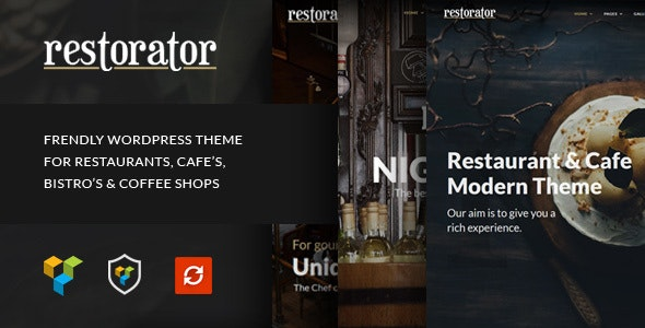 Restorator v1.3 — Restaurant & Cafe WordPress Theme