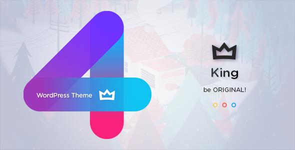 King v4.0 — Viral News Magazine Theme