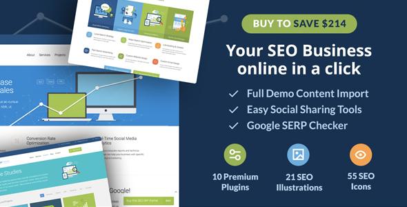 SEO WP v1.9.9 — Online Marketing, SEO, Social Media Agency