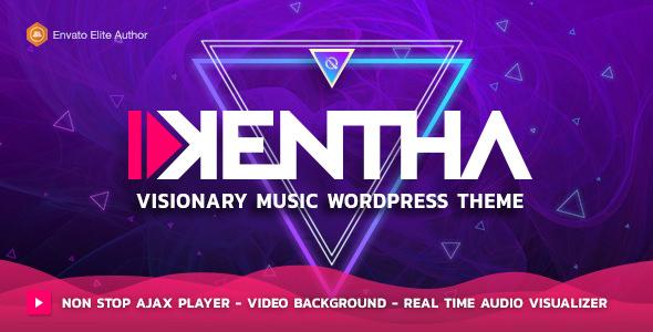 Kentha v1.6.2 — Visionary Music WordPress Theme