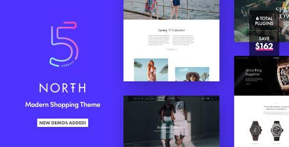 North v5.1.0 — Responsive WooCommerce Theme