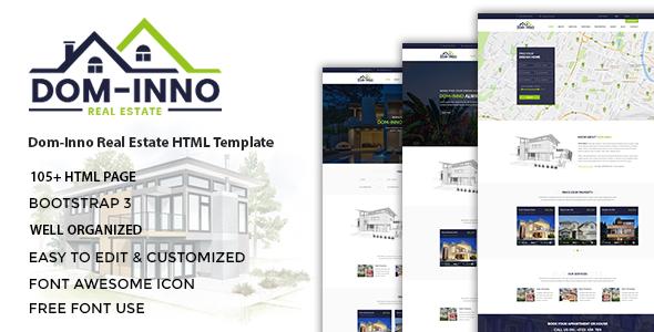 Dominno — Real Estate HTML Template
