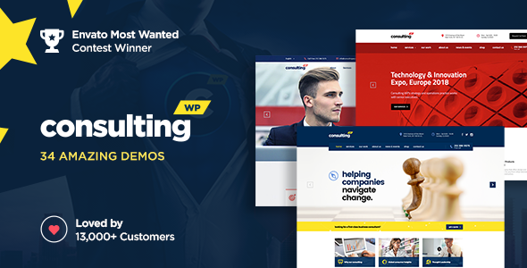 Consulting v4.6.3 — Business, Finance WordPress Theme