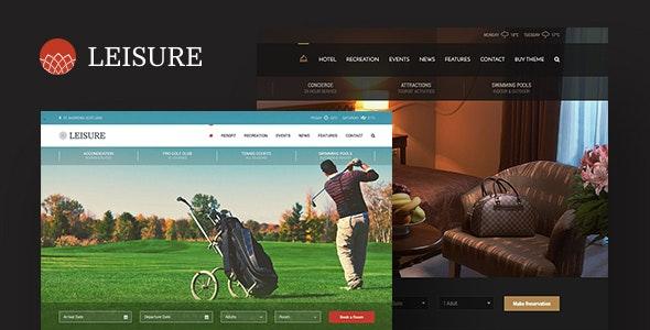 Hotel Leisure v2.1.10 — Hotel WordPress Theme