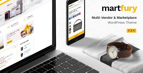 Martfury v1.7.1 — WooCommerce Marketplace Theme