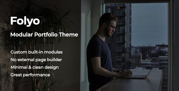 Folyo v1.0 — Modular Portfolio Theme