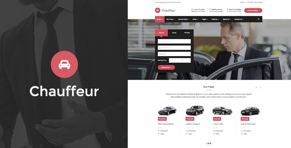 Chauffeur v1.3.2 — Limousine, Transport And Car Hire WP Theme